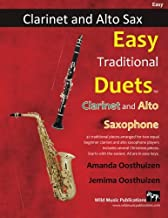 easy duets for clarinet and alto sax