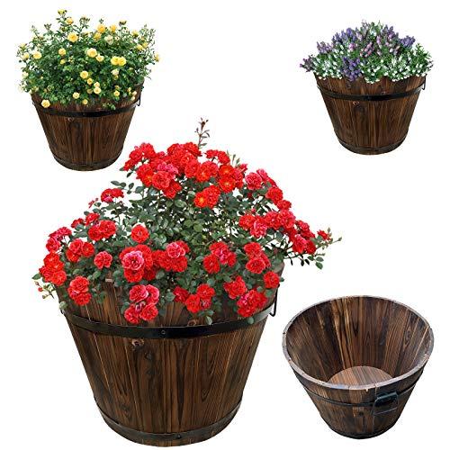 Jardinera de madera | jardinera | bancal de hierbas | macetero |...
