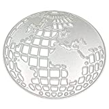Aisoway Metallschneideisen Kugelform Dekorationen Stencils für DIY Scrapbooking Album Stamp...