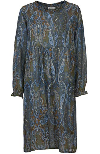 Masai Clothing Nuggi Kleid mit Paisleymuster Gr. X-Large, Fluss