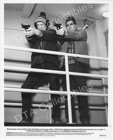 MOVIE PHOTO: STRANGE gift BREW-1983-MAX SYDOW-PAUL STI DOOLEY-BW VON Large discharge sale