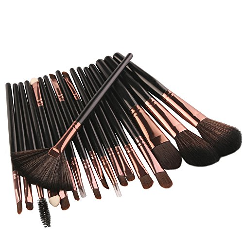 18 Pinceaux De Maquillage Noirs Rawdah New 18 pcs Makeup Brush Set tools Make-up Toiletry Kit Wool Make Up Brush Set BK