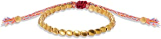 Handmade Tibetan Copper Bracelet - Adjustable Size Copper Beads Lucky Rope Bracelet - Friendship Bracelet Gift For Friends, Brothers And Sisters