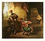 Rembrandt Der Student Poster Kunstdruck