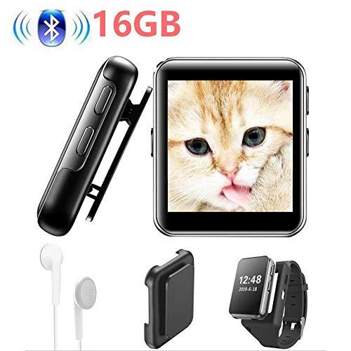 MP3-Player Touchscreen 8G/16G Clip MP3 Player zum Laufen, Joggen, unterstützt FM, Video, Stoppuhr für Kinder und Erwachsene
