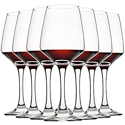 CREST Wine Glasses Clear, Lead-free