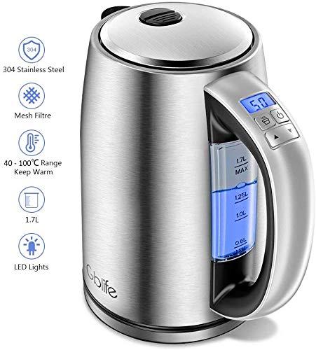 Bouilloire Thermostat Réglable,...