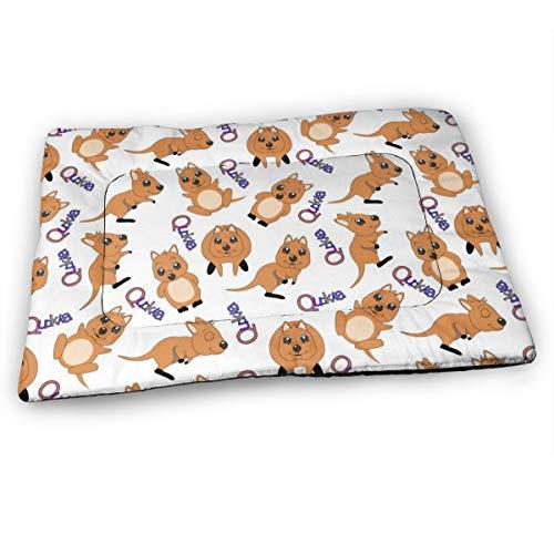 XUJT11O Hundebett mit süßem Quokka, weich, rutschfest, erhältlich in verschiedenen Ausführungen