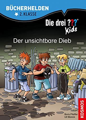 Die drei ??? Kids, Bücherhelden 2. Klasse, Der unsichtbare Dieb (drei Fragezeichen Kids)