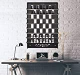 Tubibu Chess Unique Wall Decor, Convenient to Play Game, Extraordinary Gift, Wall Decor, Wall Art