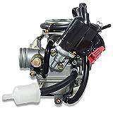 1 unid motocicleta carburador de repuesto alta calidad para BAJA Scooter ATV PD24J 24mm GY6 125cc 150cc Carburador Accesorios motocicleta carburador tornillos de repuesto