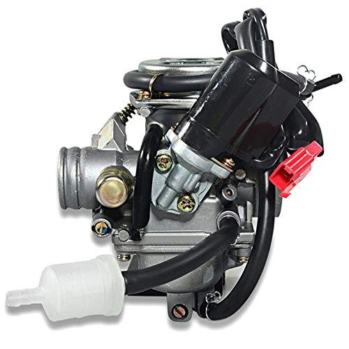 1 pieza de carburador de motocicleta de repuesto de alta calidad para BAJA Scooter ATV PD24J 24mm GY6 125cc 150cc Carburador accesorios de motocicleta carburador tornillos de repuesto de carburador