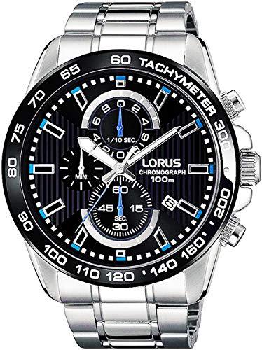 [LORUS]セイコーLORUS メンズ 腕時計 クロノグラフ RM377CX9ブラック [並行輸入品]