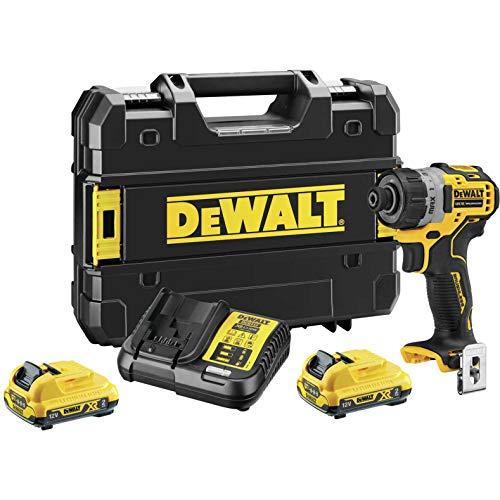 DEWALT DEWDCF601D2 Sub-Compact Screwdriver, 12 V