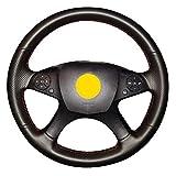 HCDSWSN Handnähen Lenkradbezug für Mercedes Benz W204 C-Klasse 2007-2010 C280 C230 C180 C260 C200 C300
