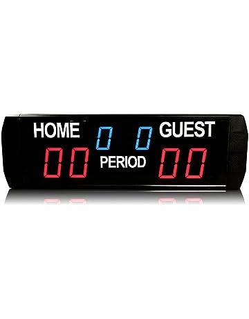 Amazon.es: Marcadores de puntuación y tiempo - Material para entrenadores y árbitros: Deportes y aire libre