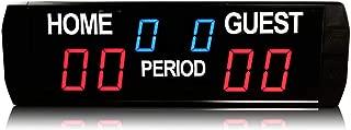 GAN XIN 6 Digits Electronic Digital Scoreboard Used in Basketball/Soccer/Baseball/Volleyball