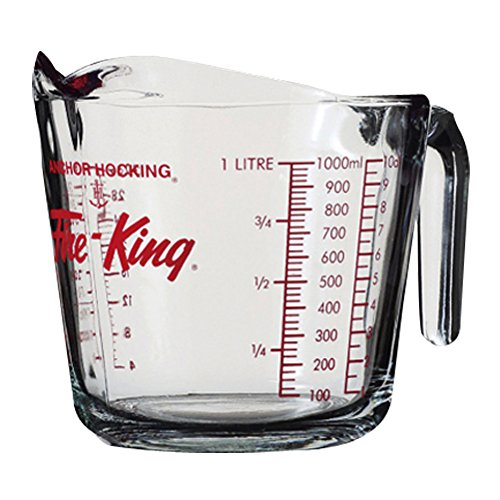 Measuring Cup, Glass, 4-Cup