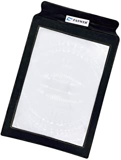 Large Sheet Magnifier with 3X Magnifying Power Portable Page Size Magnifying Glass for Reading Books Newspapers to Use as ...