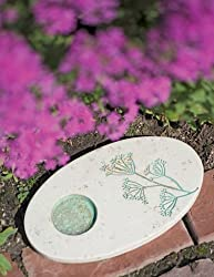 Image: Outdoor Butterfly Puddling Stone for Pollinators and Garden Decor | by Gardener's Supply Company