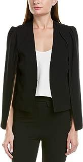 Womens Cape Jacket, M, Black