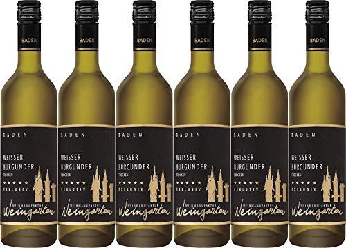 Weinmanufaktur Weingarten Weißer Burgunder Exklusiv 2020 Trocken (6 x 0.75 l)