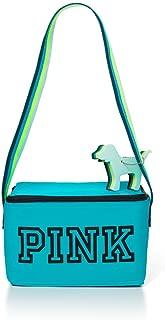 Victoria's Secret PINK Cooler & Mini Dog Key Chain Set Indigo Blue