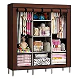 SPACIOUS MULTI-FUNCTION STORAGE CLOSET- Not just for clothes! Can store books, shoes, kids' toys, you name it! BUCKETLIST Wardrobe offers enough space for both longer outfits and folded clothes, for easy access to whatever you choose to store. QUICK ...