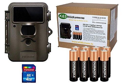 Dörr Snapshot Limited 5.0 MP Black Wildkamera Set