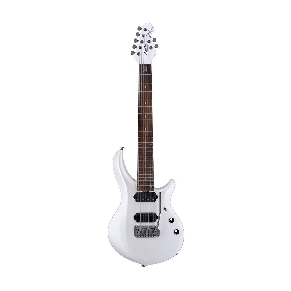 Cheap Sterling By MusicMan 7 String Solid-Body Electric Guitar Right Pearl White (MAJ170X-PWH) Black Friday & Cyber Monday 2019