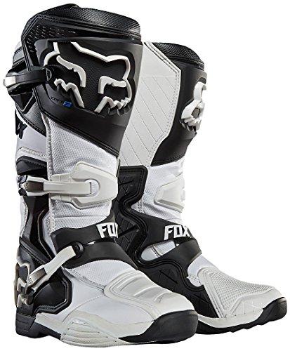 Fox Motocross-Stiefel Comp 8 Weiß Gr. 45
