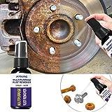 Comaie Dissolvant de Voiture de Kaersishop, lubrifiant antirouille, solvant de Rouille de Poudre de Fer de Peinture de Chrome de Surface en métal s'appliquent à la Rouille Huile antirouille de métal