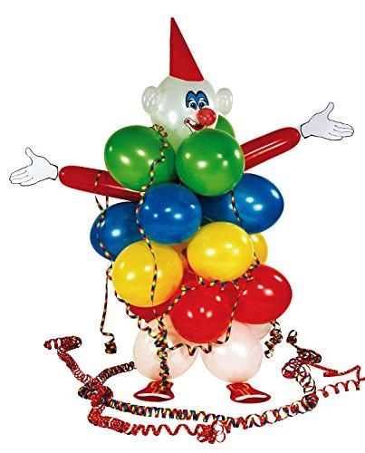 Riethmüller - 450001 - Décoration de Fête - Set de Décoration - Ballons Clown