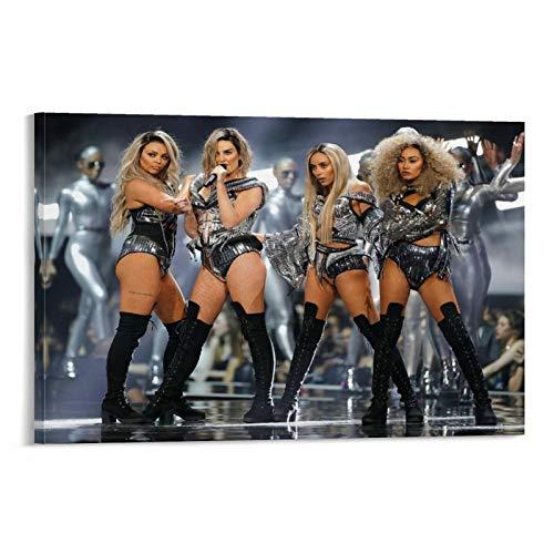 SDFGSD Band Little Mix Poster Tour Outfits Leinwand Kunst Poster und Wandkunst Bild Druck Modern Familie Schlafzimmer Dekor Poster