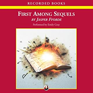 First Among Sequels audiobook cover art