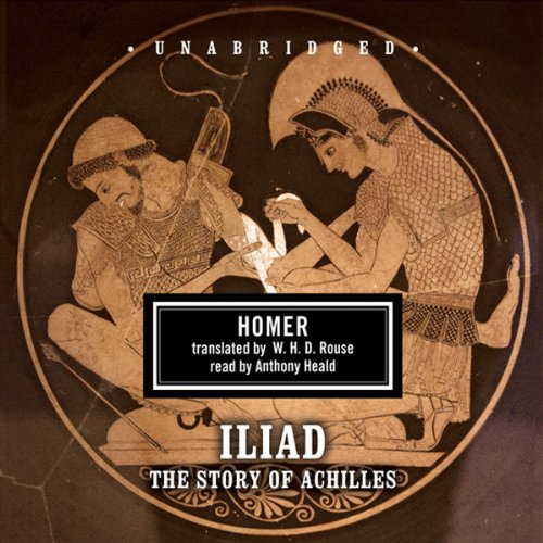 The Iliad audiobook cover art