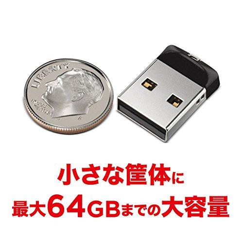 サンディスク『クルーザーフィットSDCZ33-064G-J57』