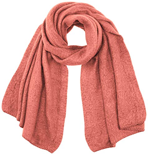 ONLY Damen ONLLIMA KNIT LONG SCARF CC Mode-Schal, Dusty Rose, ONE SIZE