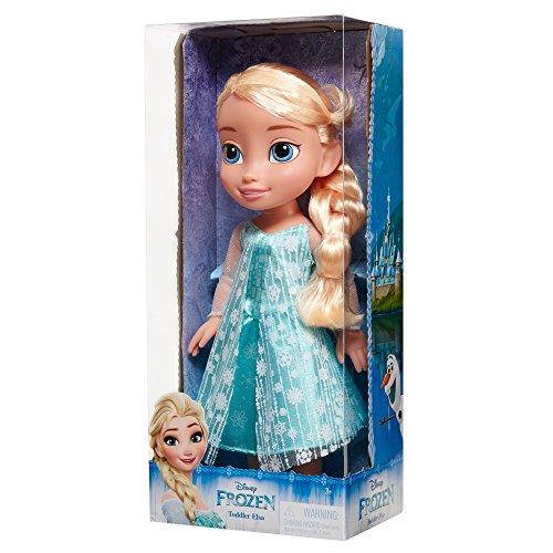 Disney 039897989211 Frozen Elsa Toddler Doll, Blue