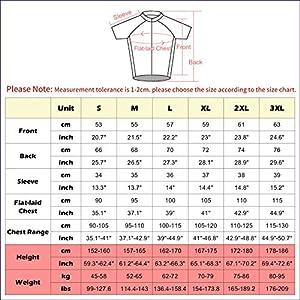 TIDH Conjunto Ropa Ciclismo para Verano, Maillot Ciclismo Mangas Cortas y Culotte Pantalones Cortos Bicicleta con 5D Gel Pad, Equipacion Ciclismo para Hombre