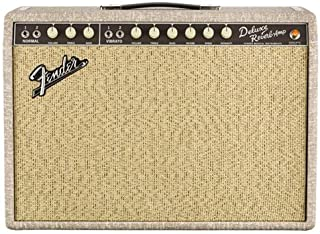 """Fender Limited Edition '65 Deluxe Reverb Fawn 22-Watt 1x12"""" Tube Guitar Combo Amplifier"""
