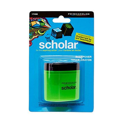 Prismacolor Scholar Anspitzer und Radiergummi Bleistiftspitzer Sharpener grün