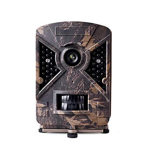 narrogat Nessuna impostazione Fotocamera da Caccia, Impermeabile IP66, Infrarossi, Movimento Attivato, Schermo LCD 2.4 Pollici, 1080P, 12MP