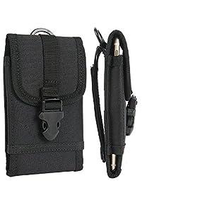 K-S-Trade Handyhülle Kompatibel Mit Ulefone Armor 8 Gürteltasche Holster Handytasche Gürtel Tasche Schutzhülle Robuste Handy Schutz Hülle Tasche Outdoor Schwarz