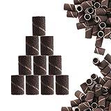 100 × Bandas Abrasivas Para Torno de Uñas Papel de Lija Para Manicura y Pedicura