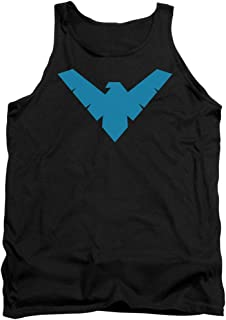 Batman Men's Nightwing Symbol Mens Tank Black