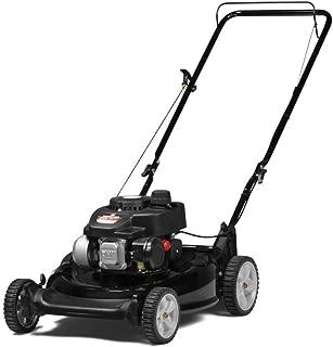 Yard Machines 140cc OHV 21-Inch High Wheeled 2-in-1 Push Walk-Behind Gas Powered Lawn Mower
