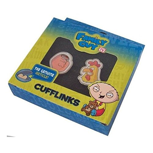 Family Guy - Peter Versus Chicken Cufflink Set