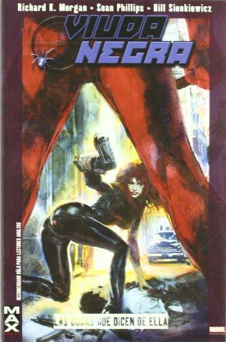 Max viuda negra - las cosas que dicen de ella (Max Comics (panini))