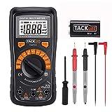 Multimetro Digitale Classico, Tacklife DM02A Multi Tester con Rilevamento di Voltaggio Sen...